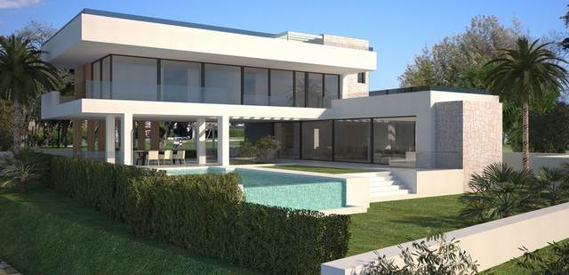 new modern villa for sale in la alqueria benahavis